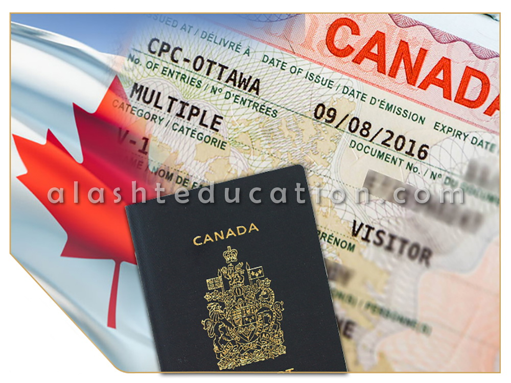 هزینه ویزای تحصیلی کانادا